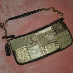 COACH *Like NEW*  Suede &  Leather Patchwork Bag